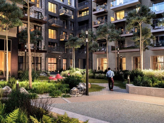 Image of Landscaped Courtyards for Quayside Quarter